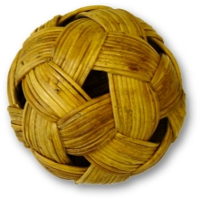An original rattan ball