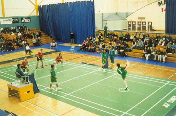 Sepak Takraw: Thailand vs. Canada, Nanaimo, BC, March 2002