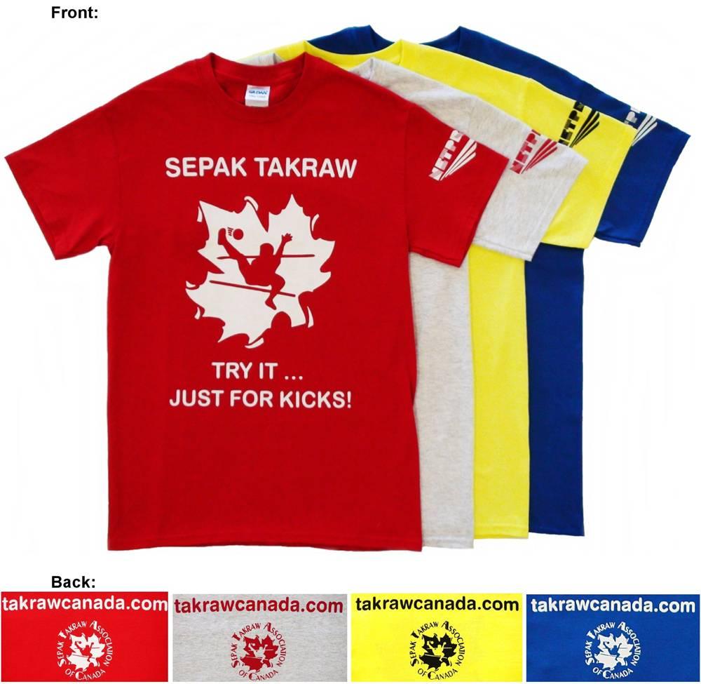 Shirt design canada - Takraw Canada T Shirts